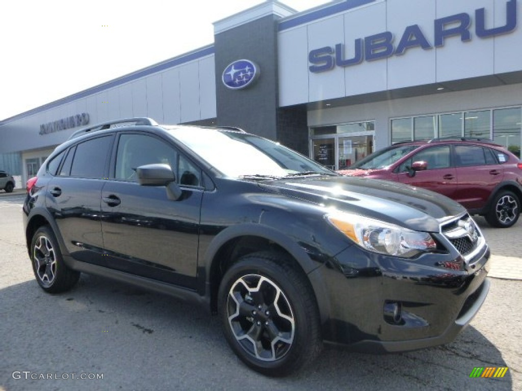 2014 Subaru Xv Crosstrek 2.0I Limited >> 2015 Crystal Black Silica Subaru XV Crosstrek 2.0i #106213325 | GTCarLot.com - Car Color Galleries