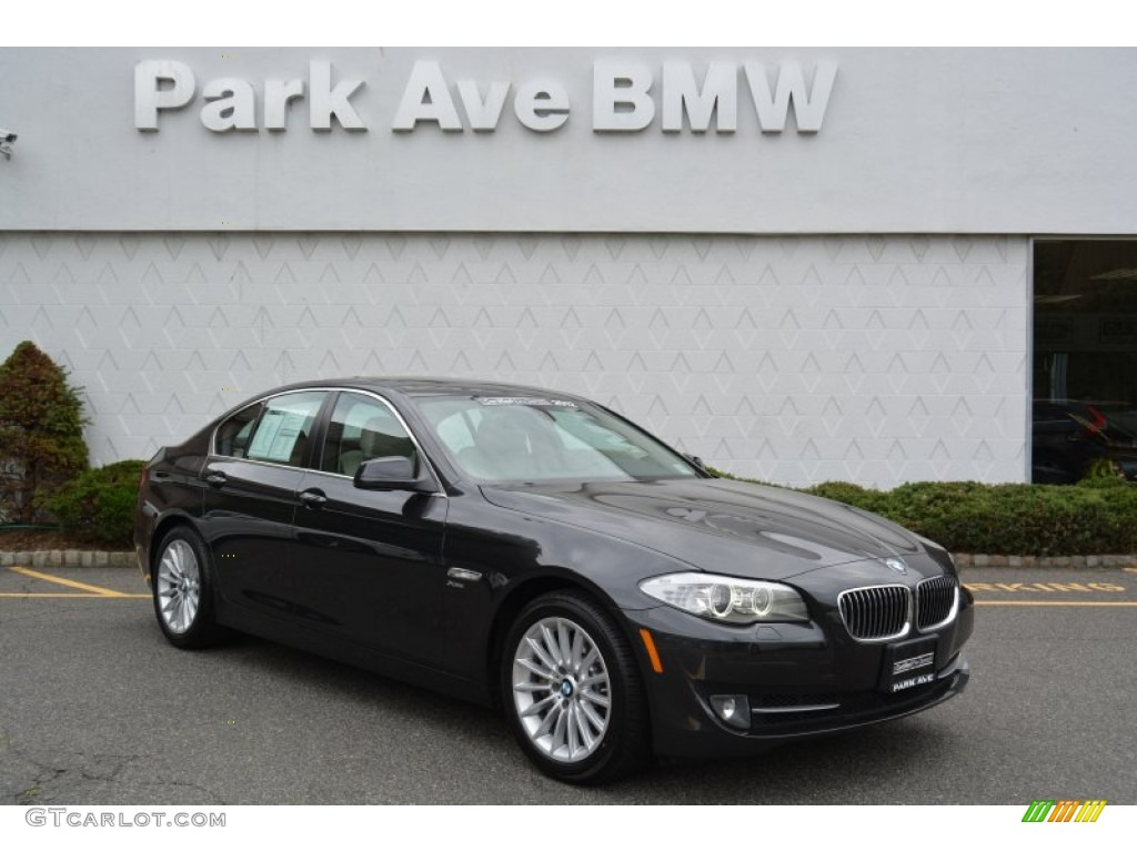 2012 dark graphite metallic ii bmw 5 series 535i xdrive. Black Bedroom Furniture Sets. Home Design Ideas