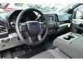 Medium Earth Gray Prime Interior Photo for 2015 Ford F150 #106257693