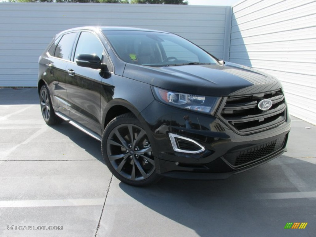 2015 Tuxedo Black Metallic Ford Edge Sport AWD 106241873