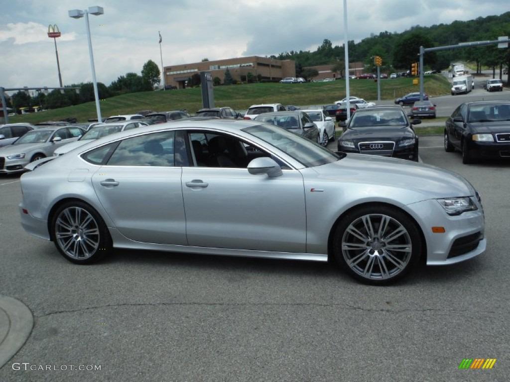 Ice Silver Metallic 2012 Audi A7 3 0t Quattro Prestige