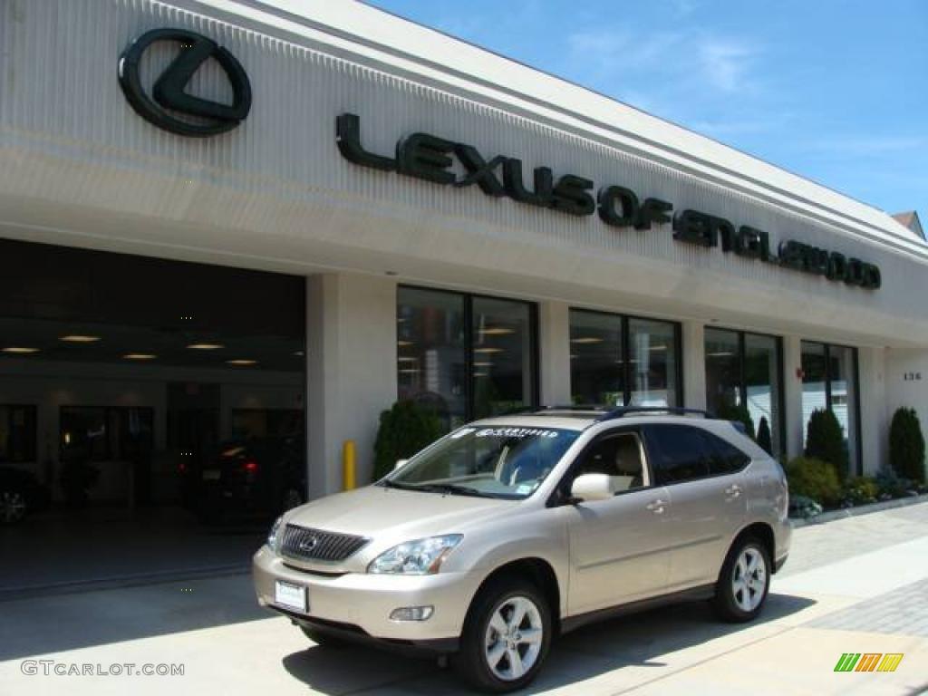 2007 Savannah Beige Metallic Lexus RX 350 AWD 10603113
