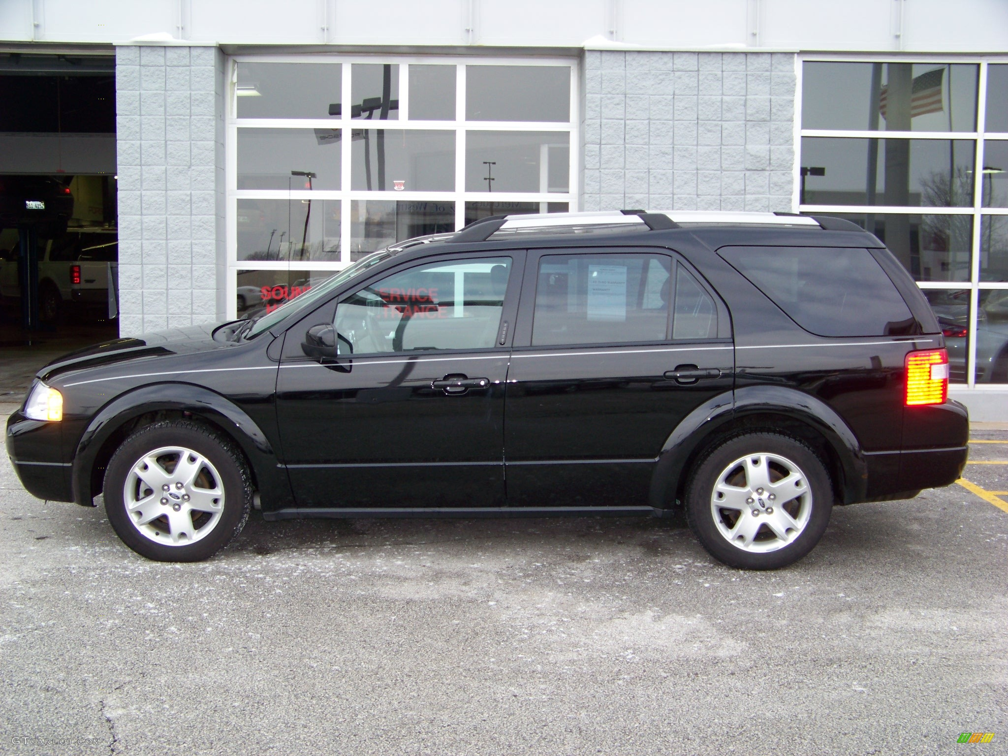 2005 ford freestyle limited awd 2005 ford freestyle limited black ebony black profile