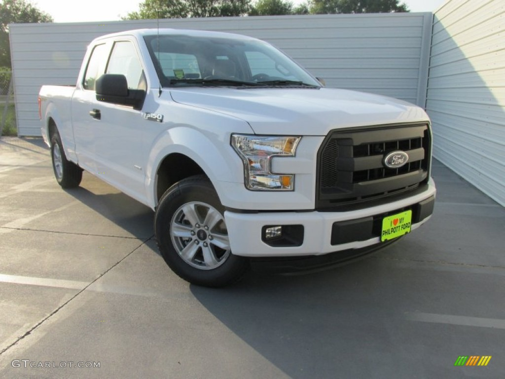 2015 oxford white ford f150 xl supercab 106265463 car color galleries. Black Bedroom Furniture Sets. Home Design Ideas