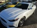 2015 Oxford White Ford Mustang GT Premium Coupe  photo #2