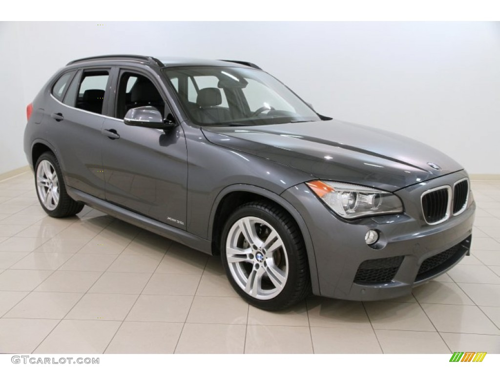 Mineral Grey Metallic 2013 Bmw X1 Xdrive 35i Exterior