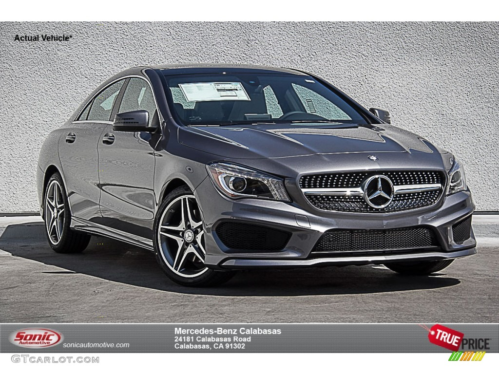2015 mountain grey metallic mercedes benz cla 250. Black Bedroom Furniture Sets. Home Design Ideas