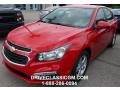 2016 Red Hot Chevrolet Cruze Limited LT  photo #1