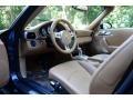 Sand Beige Interior Photo for 2012 Porsche 911 #106374317