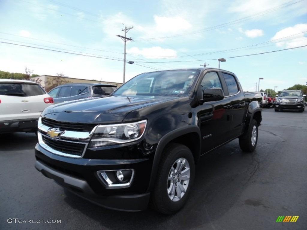 Black Chevrolet Colorado
