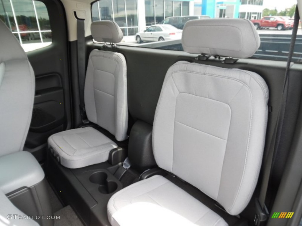 2016 chevrolet colorado wt extended cab 4x4 rear seat. Black Bedroom Furniture Sets. Home Design Ideas