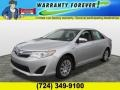 Classic Silver Metallic 2012 Toyota Camry Hybrid LE