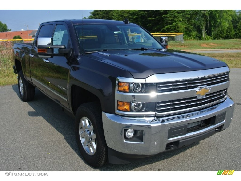 2015 tungsten metallic chevrolet silverado 2500hd ltz crew cab 4x4 106363313. Black Bedroom Furniture Sets. Home Design Ideas