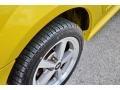 2002 Zinc Yellow Ford Mustang V6 Coupe  photo #13