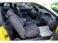 2002 Zinc Yellow Ford Mustang V6 Coupe  photo #15