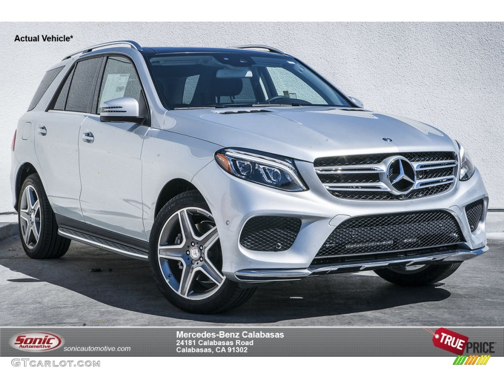 2016 iridium silver metallic mercedes benz gle 400 4matic for Mercedes benz silver