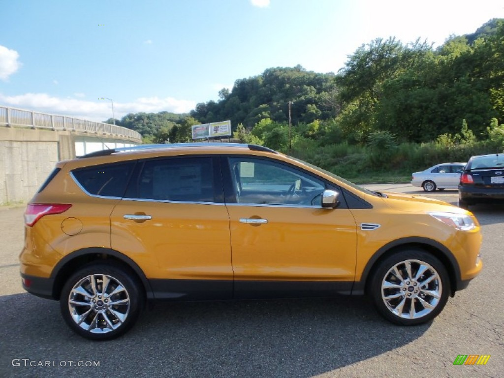 New Ford Escape In Sunset Color On Exterior Release And Html Autos Weblog