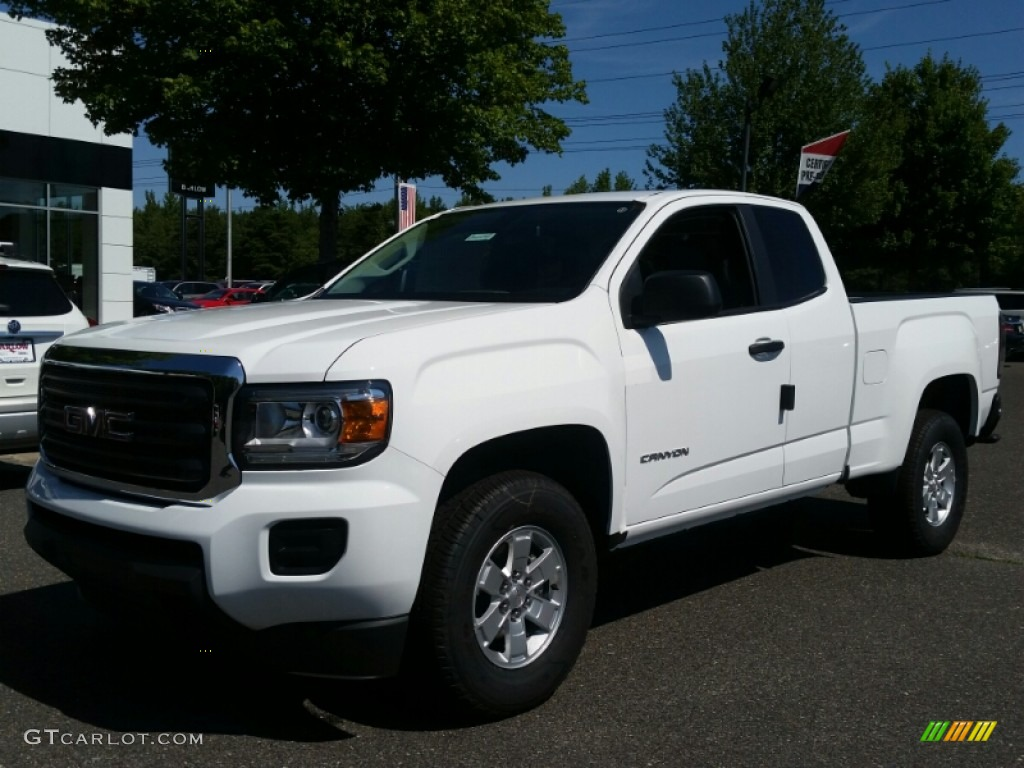 2016 summit white gmc canyon extended cab 106397557 car color galleries. Black Bedroom Furniture Sets. Home Design Ideas
