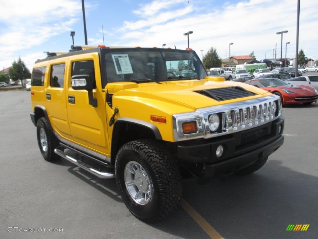 2006 H2 SUV - Yellow / Ebony photo #1