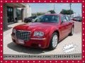 Inferno Red Crystal Pearl 2009 Chrysler 300 C HEMI