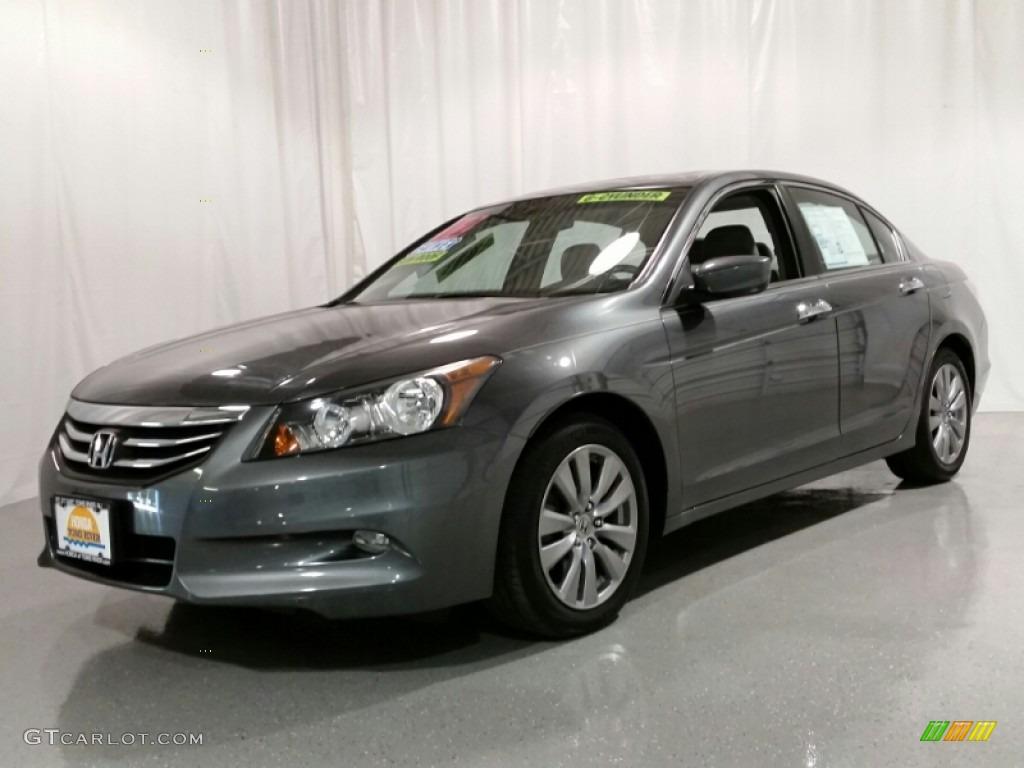 2012 polished metal metallic honda accord ex l v6 sedan for Honda accord ex l v6