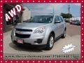 Silver Ice Metallic 2013 Chevrolet Equinox LS AWD