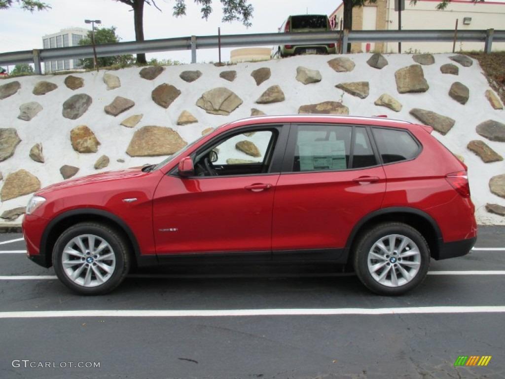 2016 Melbourne Red Metallic BMW X3 XDrive28i 106444526 Photo 2
