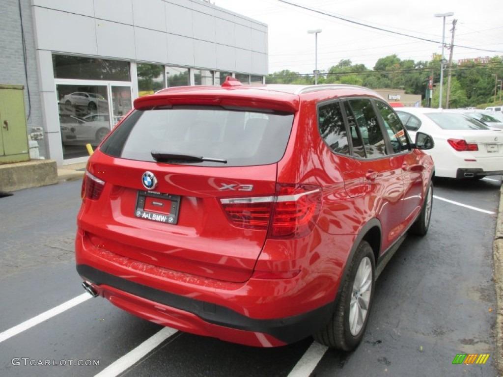 2016 Melbourne Red Metallic BMW X3 XDrive28i 106444526 Photo 6