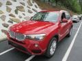 Melbourne Red Metallic 2016 BMW X3 Gallery
