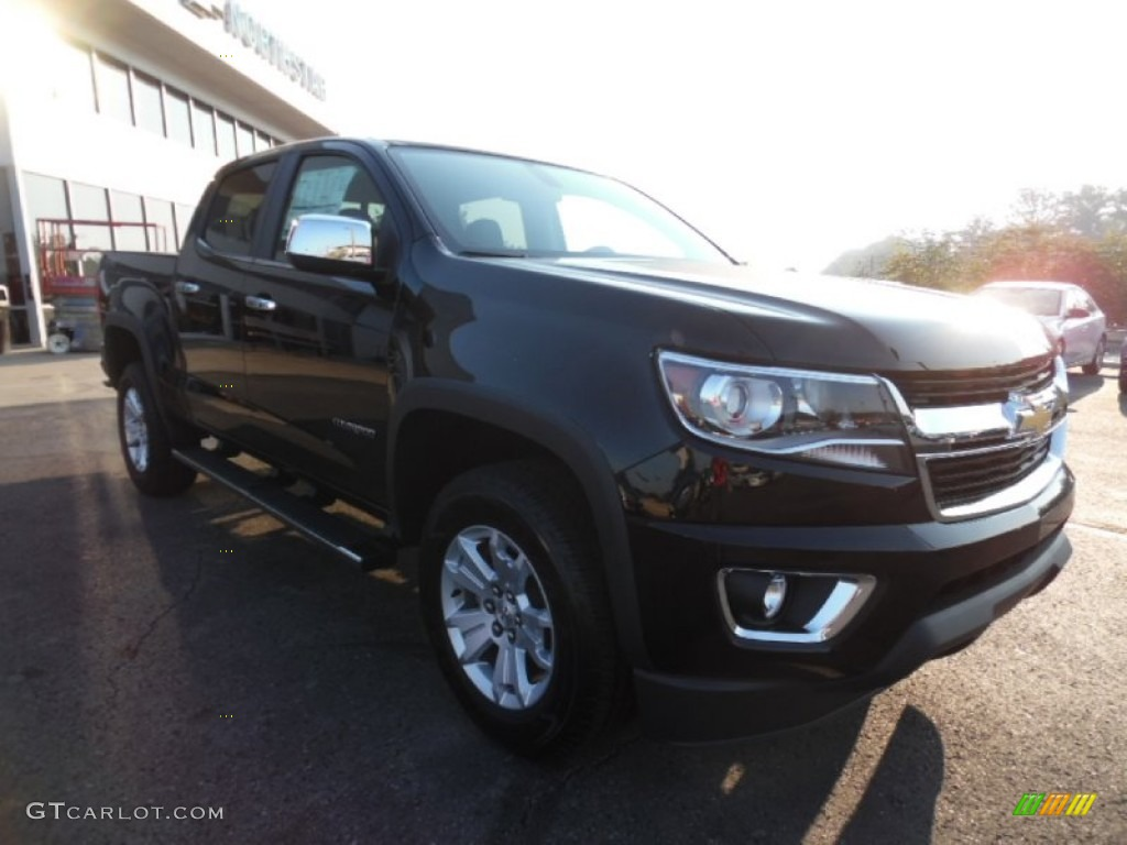 2016 black chevrolet colorado lt crew cab 4x4 106444318. Black Bedroom Furniture Sets. Home Design Ideas
