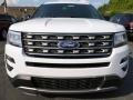 2016 Oxford White Ford Explorer XLT 4WD  photo #6