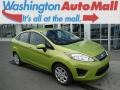 2013 Lime Squeeze Ford Fiesta SE Sedan #106444179