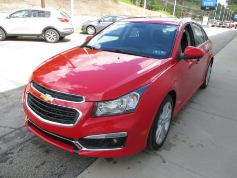 2016 Chevrolet Cruze Limited LTZ Data, Info and Specs