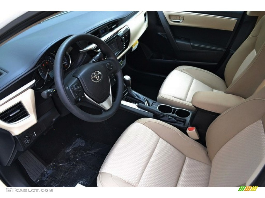 Ivory Interior 2016 Toyota Corolla Le Plus Photo 106479846