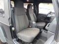 Dark Slate Gray 2005 Jeep Wrangler Interiors