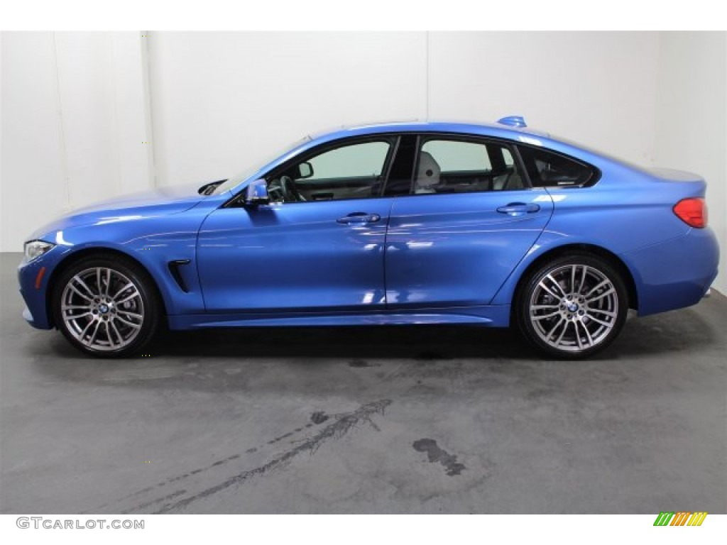 Estoril Blue Metallic 2015 Bmw 4 Series 428i Xdrive Gran Coupe Exterior Photo 106536763