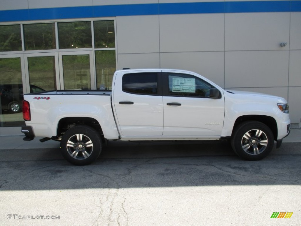 2016 summit white chevrolet colorado wt crew cab 4x4. Black Bedroom Furniture Sets. Home Design Ideas