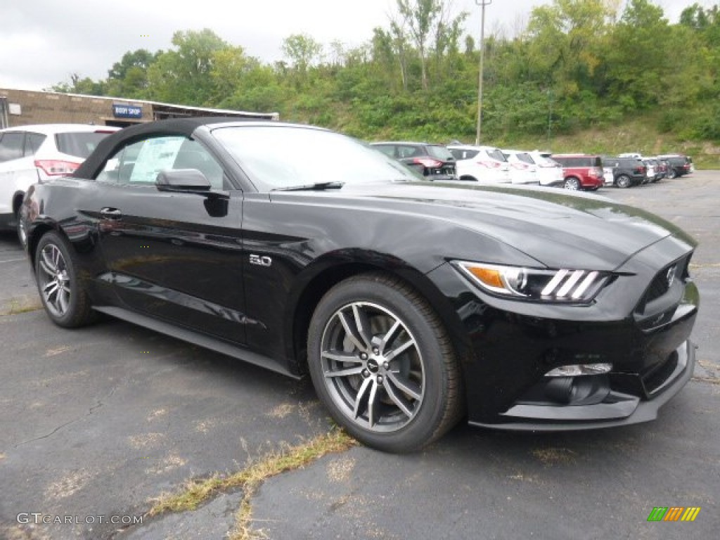 2015 Black Ford Mustang Gt Premium Convertible 106539195 Photo 5