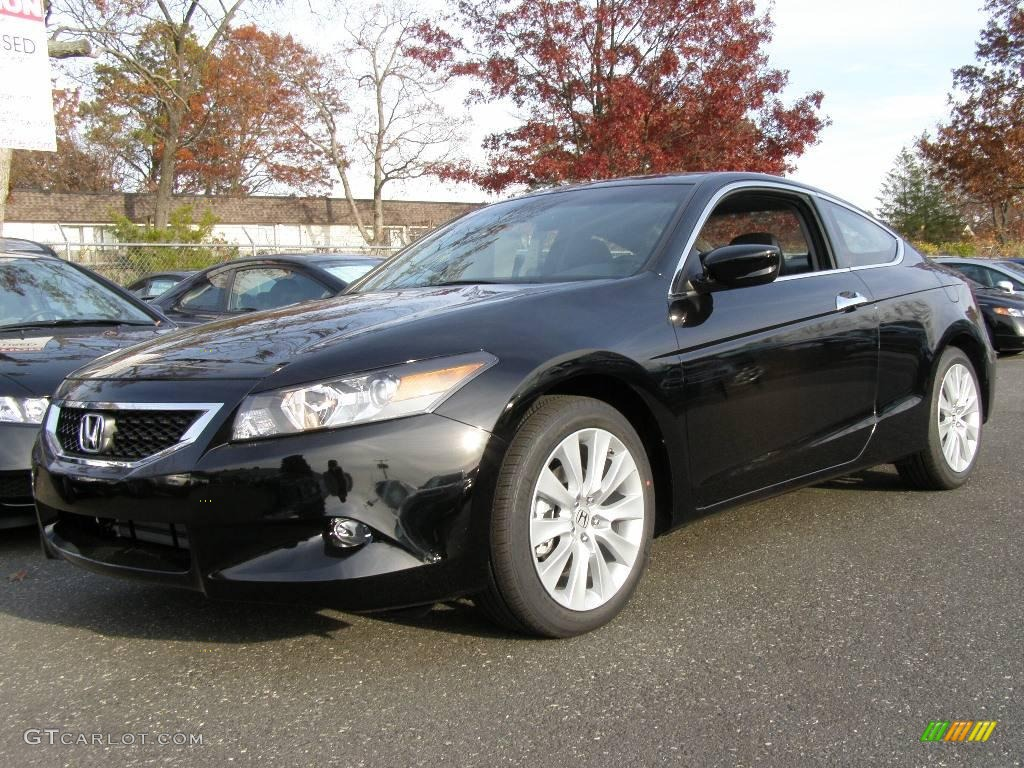 2009 crystal black pearl honda accord ex l v6 coupe. Black Bedroom Furniture Sets. Home Design Ideas