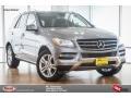 Paladium Silver Metallic 2015 Mercedes-Benz ML 350