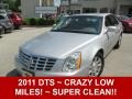Radiant Silver Metallic 2011 Cadillac DTS