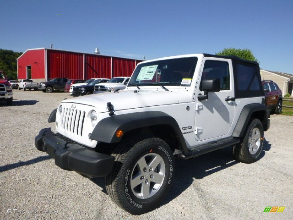 2015 Jeep Willys Specs >> 2015 Bright White Jeep Wrangler Sport 4x4 #106585379 | GTCarLot.com - Car Color Galleries