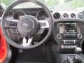 2015 Ford Mustang Ebony Interior Dashboard Photo