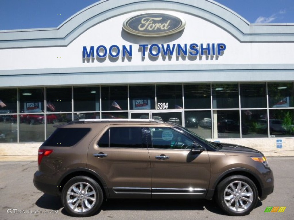 2015 ford explorer xlt 4wd caribou color charcoal black interior 2015