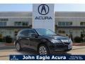 Crystal Black Pearl 2016 Acura MDX Technology