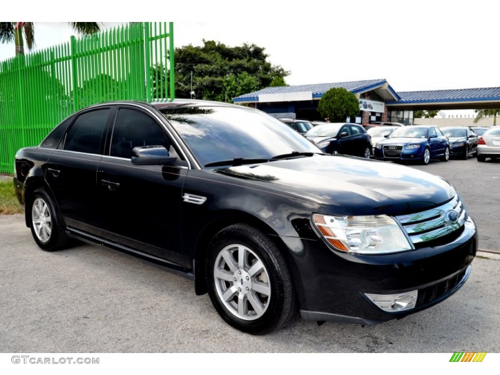 black clearcoat 2008 ford taurus sel exterior photo. Black Bedroom Furniture Sets. Home Design Ideas