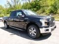 Tuxedo Black Metallic 2015 Ford F150 XLT SuperCrew 4x4