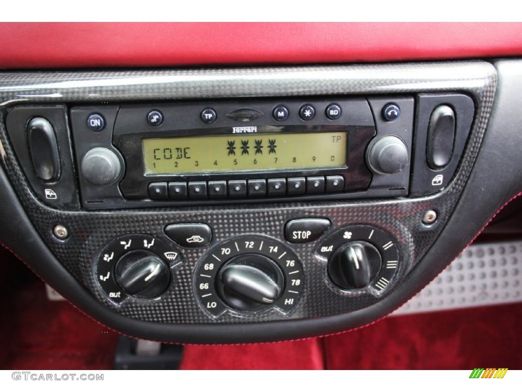 2001 Ferrari 360 Spider F1 Audio System Photo 106638238