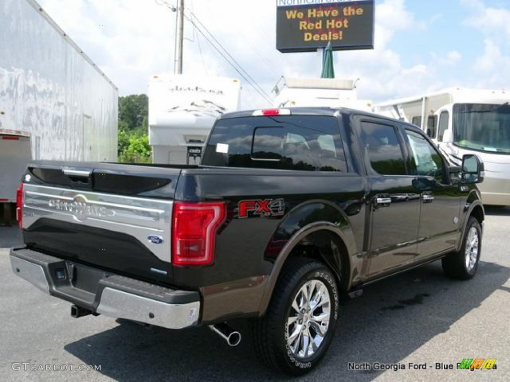 2015 Ford F150 King Ranch >> 2015 Tuxedo Black Metallic Ford F150 King Ranch SuperCrew 4x4 #106619219 Photo #5 | GTCarLot.com ...