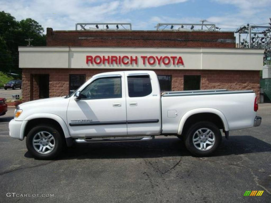 2006 natural white toyota tundra sr5 access cab 4x4 10655377 car color galleries. Black Bedroom Furniture Sets. Home Design Ideas